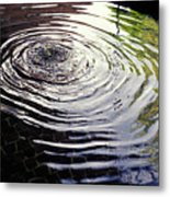 Rain Barrel Metal Print by Carl Purcell