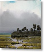 Rain On The Way Metal Print