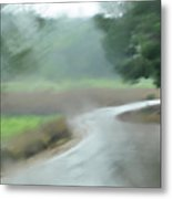 Rain Over Lachish Metal Print
