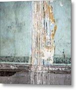 Rain Ruined Wall Metal Print
