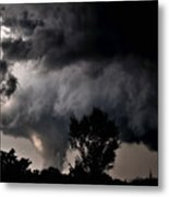Rain Shaft 01 Metal Print