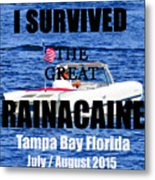 Rainacaine Tampa Bay 2015 Metal Print