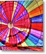 Rainbow Balloon Metal Print