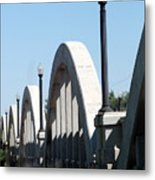 Rainbow Bridge Metal Print