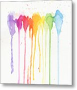 Rainbow Color Metal Print