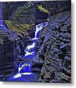 Rainbow Falls Watkins Glen State Park Metal Print