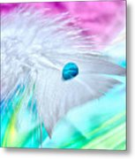 Rainbow Flight Metal Print