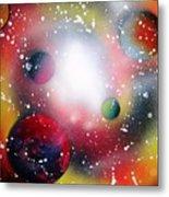 Rainbow Galaxy Metal Print