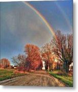 Rainbow Hdr Metal Print