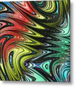 Rainbow In Abstract 05 Metal Print