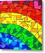 Rainbow ... Metal Print