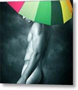 Rainbow Mike  Metal Print