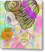 Rainbow Mrs. Metal Print