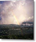 Rainbow Over Gunks Metal Print
