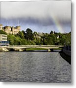 Rainbow Over Inverness Metal Print