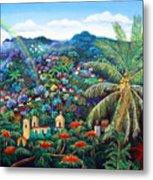 Rainbow Over Matagalpa Metal Print