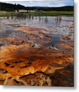 Rainbow Pool - Yellowstone Np Metal Print
