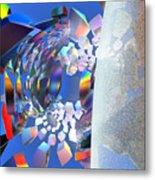 Rainbow Roller Coaster Ride By Jammer Metal Print