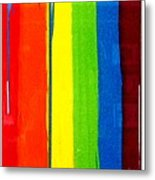 Rainbow Stretched - Edition V Metal Print