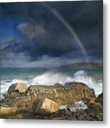 Rainbow To Heaven Shamrock Shores  Metal Print