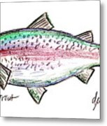 Rainbow Trout  Metal Print