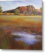 Rainbow Valley  Australia Metal Print