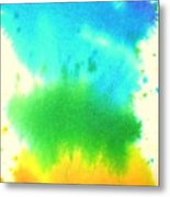 Rainbow Wash Metal Print