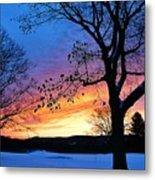 Rainbowed Sunrise Metal Print