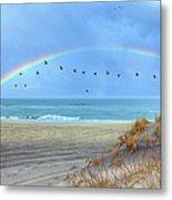 Rainbows And Wings I Metal Print by Dan Carmichael