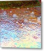 Raindrops 6877 Metal Print