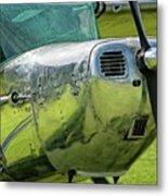 Raindrops On A Cessna - 2018 Christopher Buff, Www.aviationbuff. Metal Print
