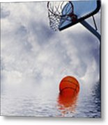 Rained Out Game Metal Print