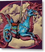 Rainey The Dragon-horse Metal Print