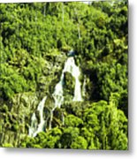 Rainforest Rapids Metal Print