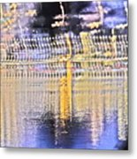 Raining Light Metal Print