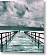 Rainy Days In Summerland 2 Metal Print