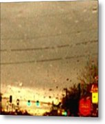 Rainy Evening Metal Print