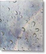 Rainy Rainbow Metal Print