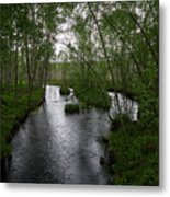 Rainy River. Koirajoki Metal Print