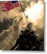 Raising The Flag At Iwo Jima 20130211 Metal Print