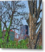 Raleigh - View From Chavis Park Metal Print