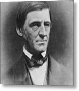 Ralph Waldo Emerson 1803-82 , American Metal Print