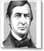 Ralph Waldo Emerson Metal Print