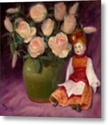 Ramblin Rose Metal Print