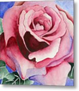 Ramblin' Rose Metal Print