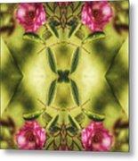 Rambling Rose  Metal Print