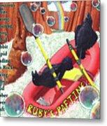 Rambunctious Ravens Metal Print