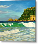 Ramy Base Beach Metal Print