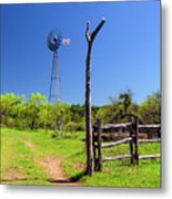 Ranch At Click Gap II Metal Print