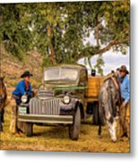 Ranch Hands Metal Print